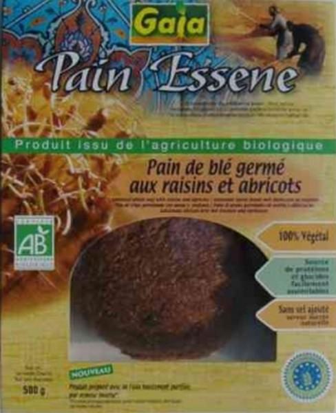Essenerbrot aus Weizen, 500g, bio