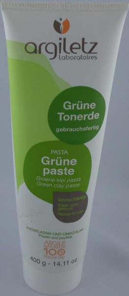Argiletz grüne Tonerde gebrauchsfertig in der Tube 400g