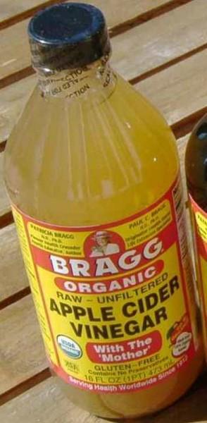 Bragg Apfel Essig, ungefiltert, Bio roh