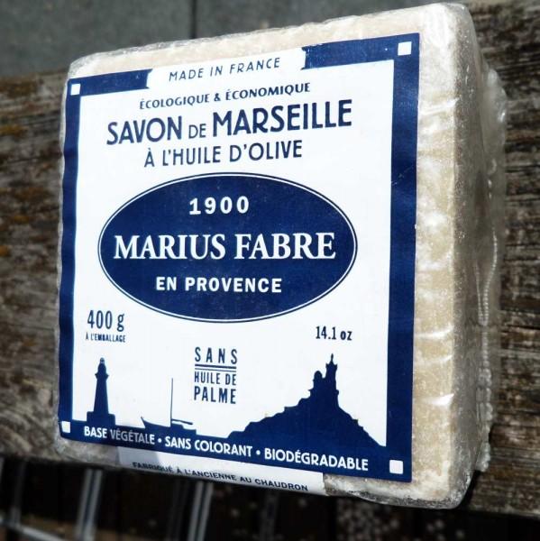 Olivenölseife, Savon de Marseille, Würfel, 400g
