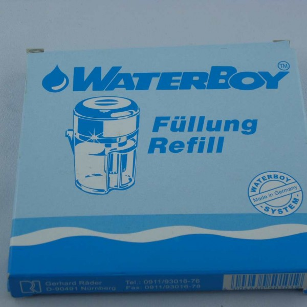 Wasserfilter Kartuschen refill ohne Silber