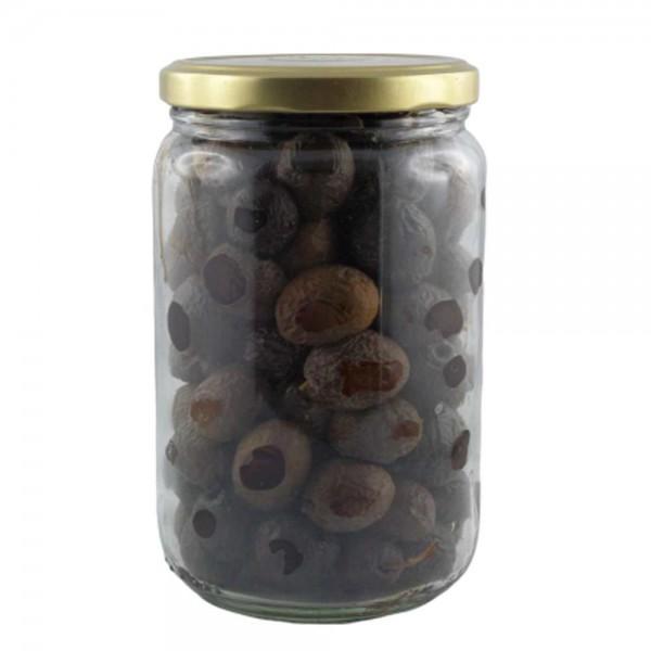 Oliven Tanche aus Nyons, natur, 450g, OHNE SALZ, Roh