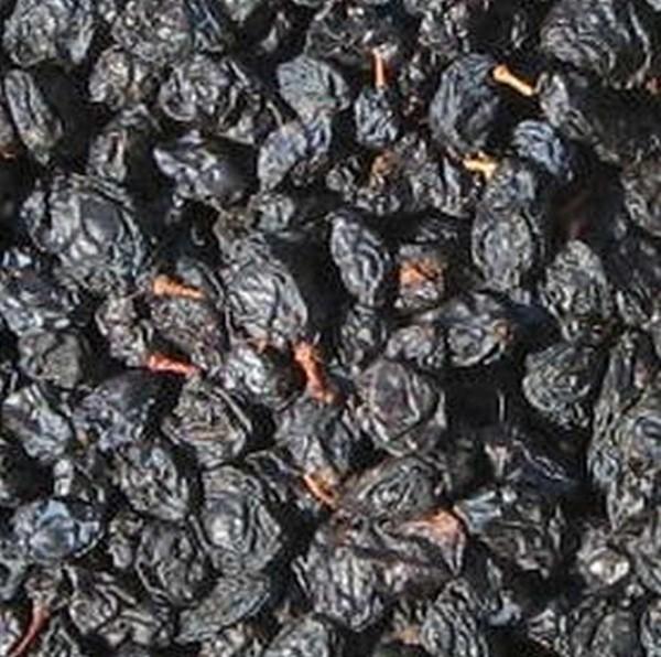 blaue Rosinen mit Kern, große Beeren, 200g