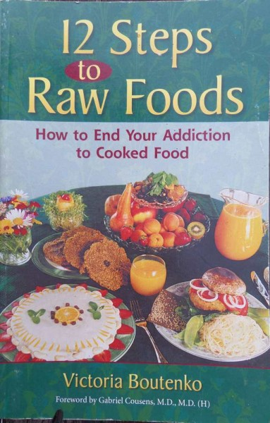 12 Steps to raw food V. Boutenko, englisch