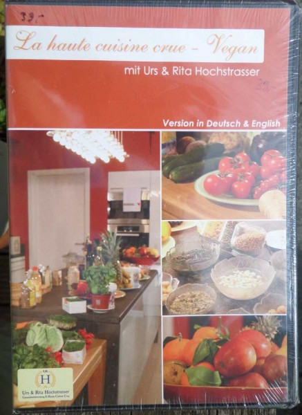 La haute cuisine crue- vegan, DVD, Urs & Rita Hochstrasser