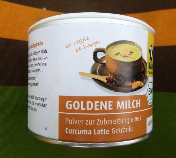 goldene Milch Curcuma Latte