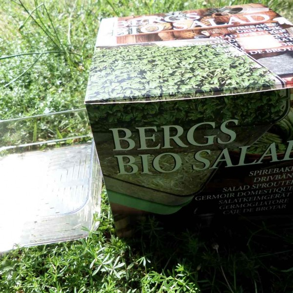 Bergs Bio- Salad, Keimgerät