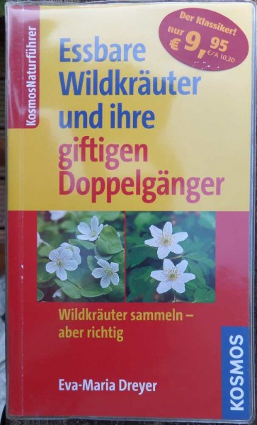 Essbare Wildkräuter E. Dreyer Taschenbuch