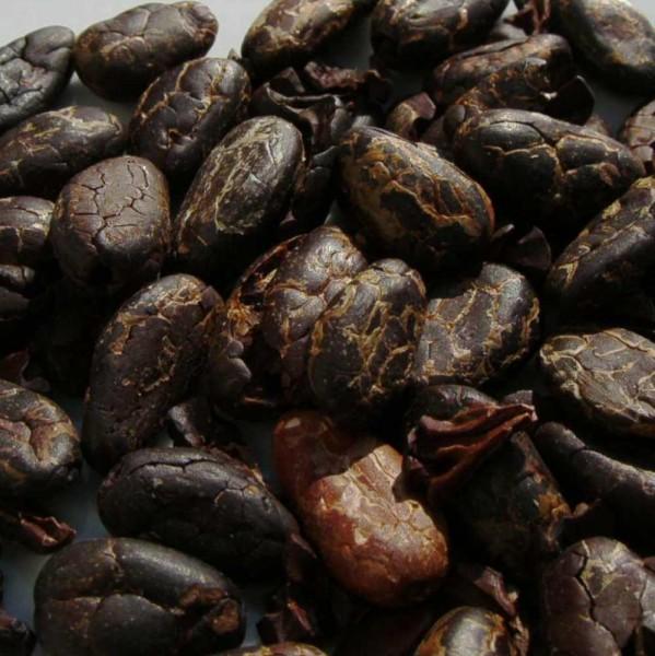 Kakao- Bohnen Roh 100g, Ecuador, versch. teils bio